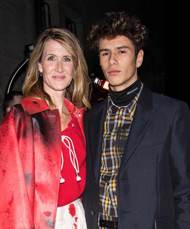 Laura Dern and son lead