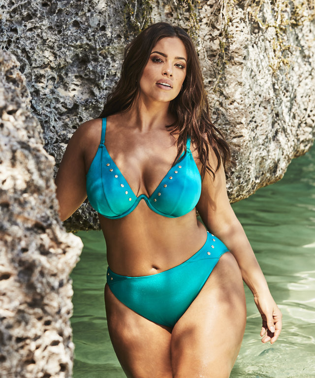 b7288d7cfc The One Swimsuit Trend Ashley Graham Is Loving For Summer 2019