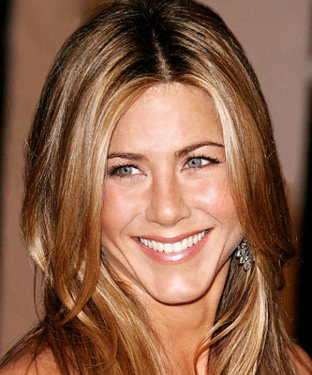 Were Jennifer aniston hair color words... Likely