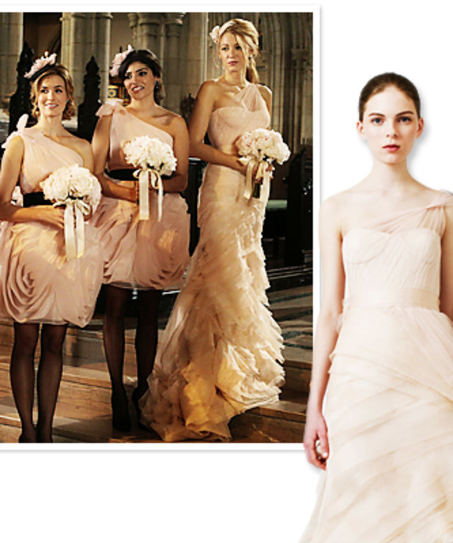 Gossip Girl Wedding Details: Serena\'s Maid of Honor Dress | InStyle.com