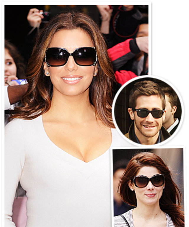 Celebrities in Sunglasses