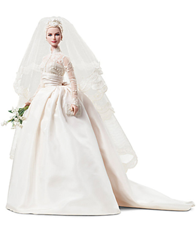 Grace Kelly -- Grace Kelly Barbie -- Grace Kelly Wedding | InStyle.com