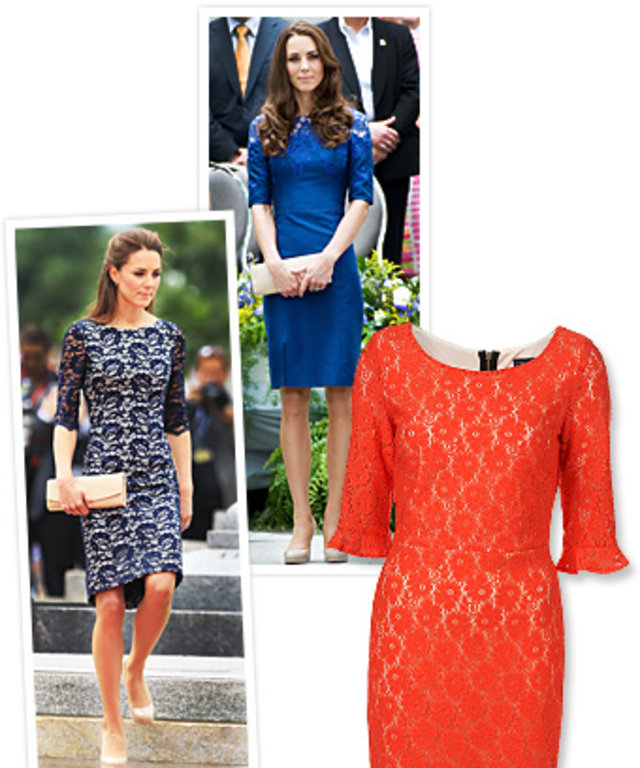 Kate Middleton, Lace Dresses