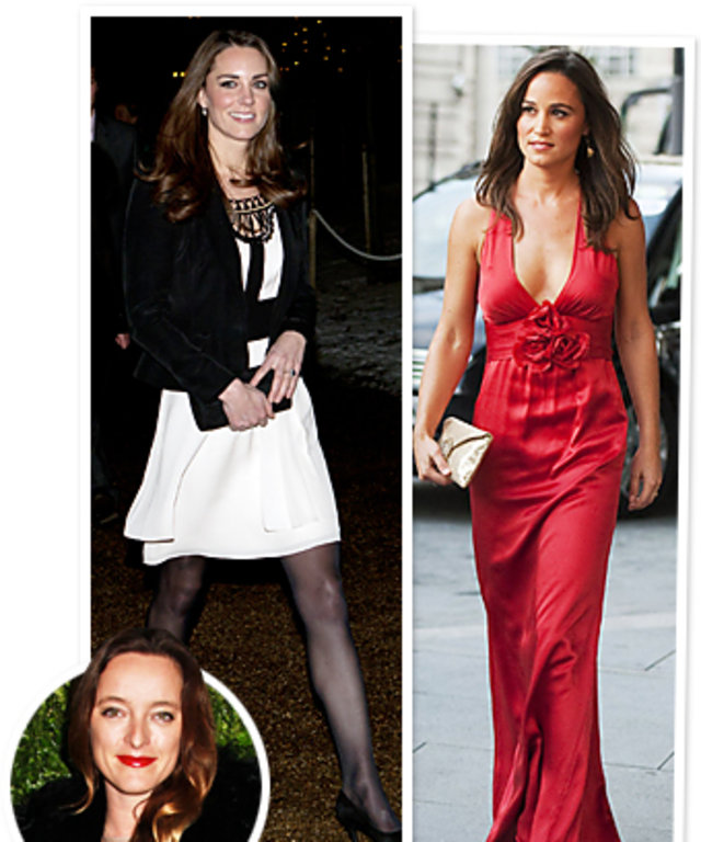 Kate Middleton, Pippa Middleton, Alice Temperley