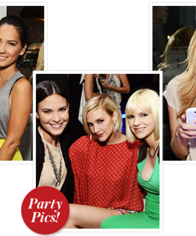 Olivia Munn, Ashlee Simpson, Anna Faris, Cat Deeley