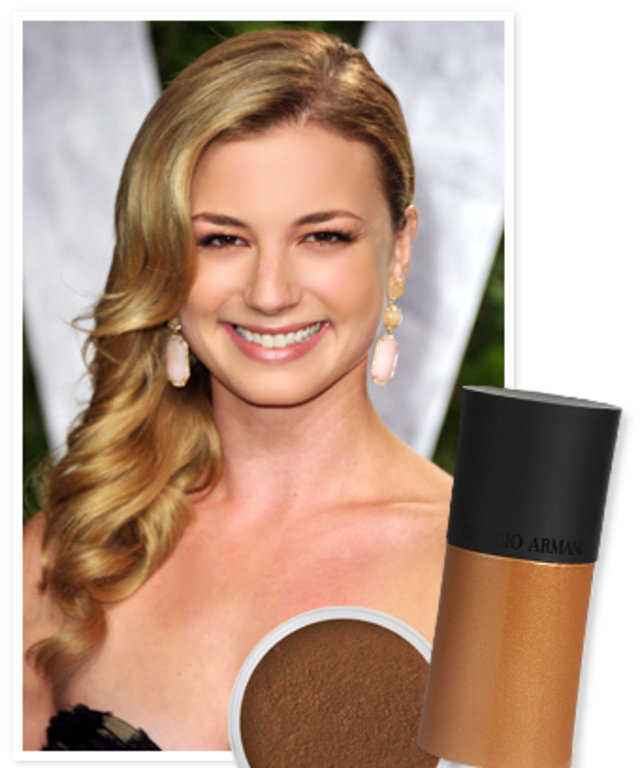Get The Look Emily Vancamps Perfect Bronze Skin Instyle