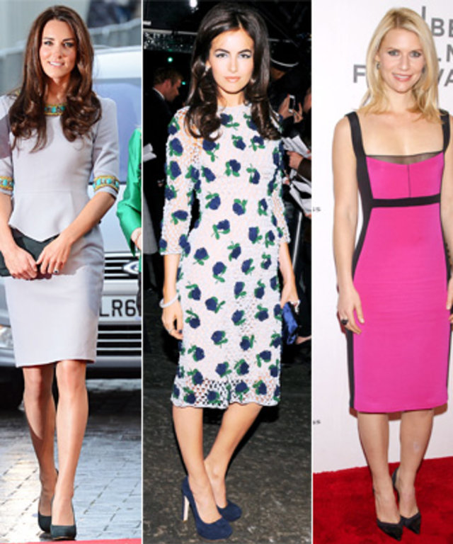 Olivia Wilde, Kate Middleton, Camilla Belle, Claire Danes, Charlize Theron