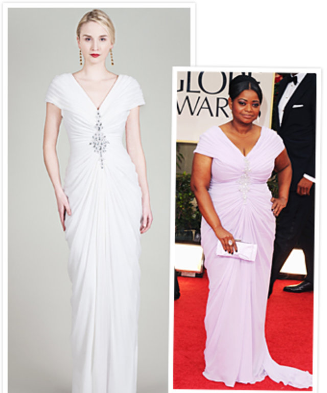 Octavia Spencer Bridal