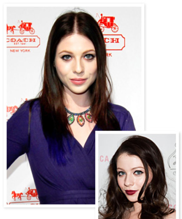Michelle Trachtenberg's Blue Hair