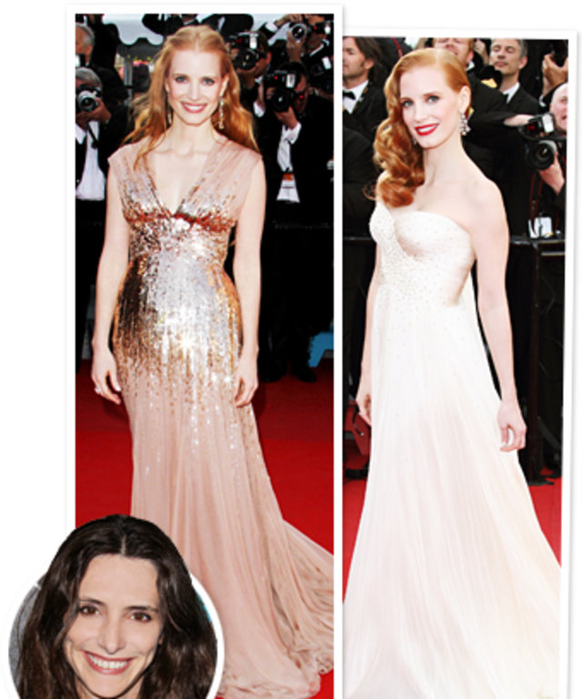 Jessica Chastain, Cannes 2012