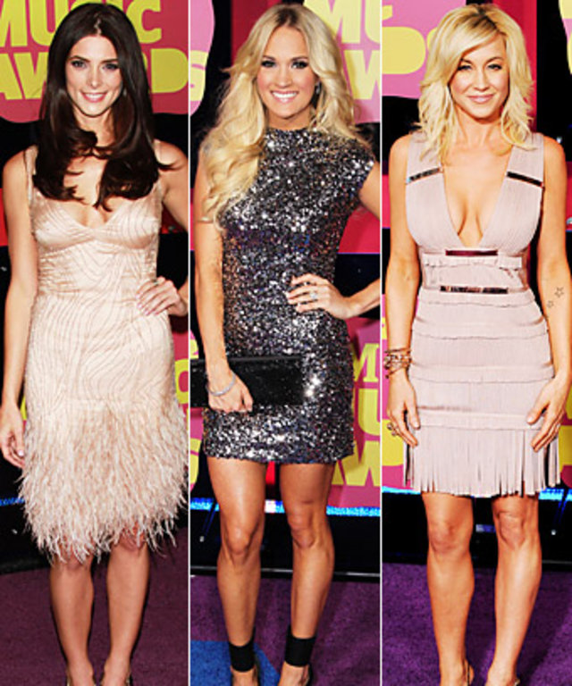 Ashley Greene, Carrie Underwood, Kellie Pickler