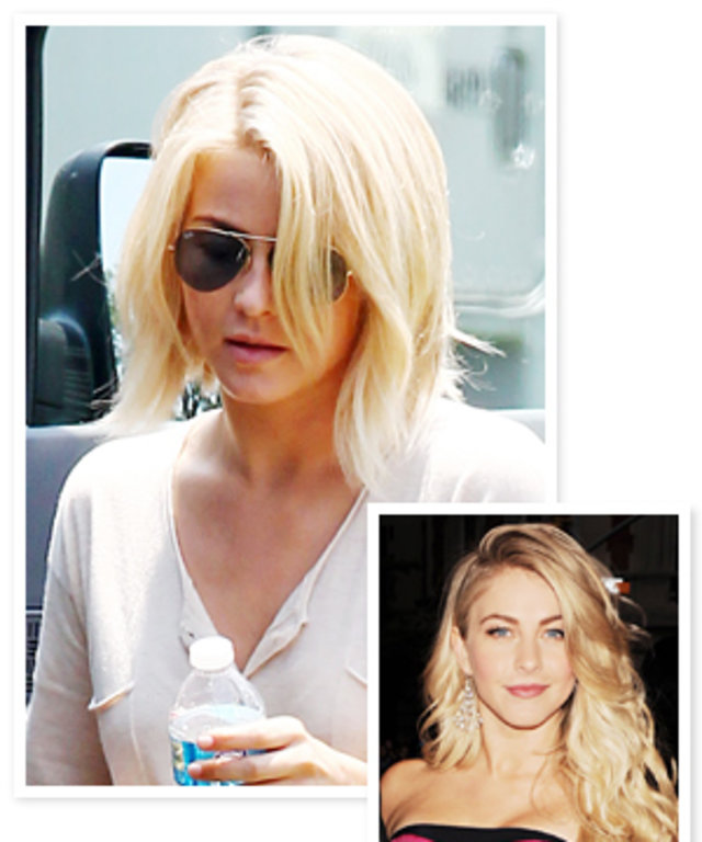 New Haircut Alert Julianne Houghs Bob Instyle