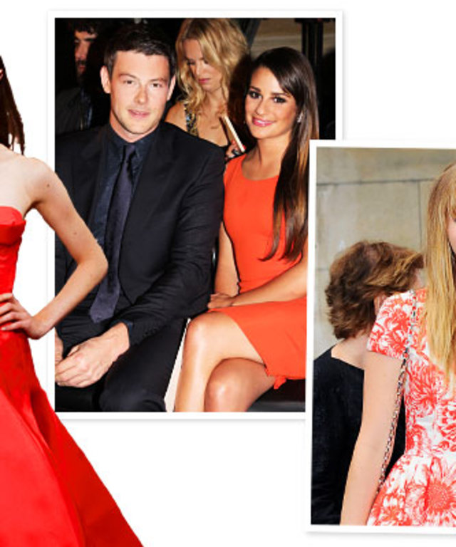 Couture Week, Lea Michele, Jennifer Lawrence