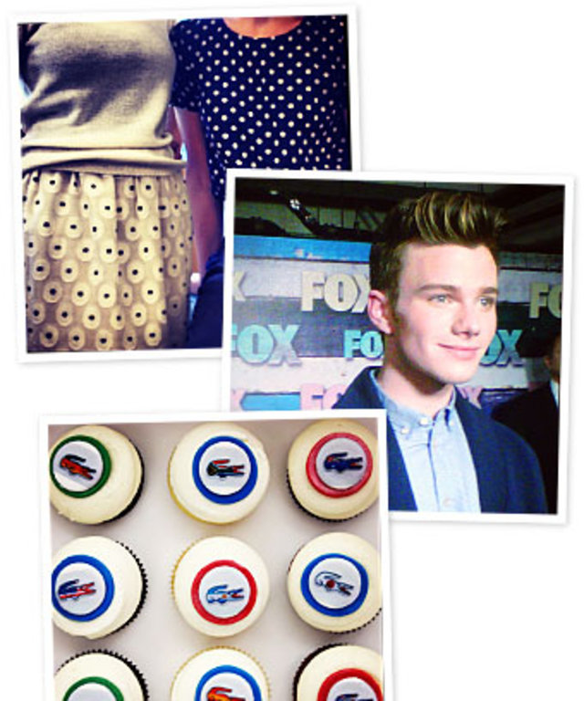 Instagram, Chris Colfer, Lacoste