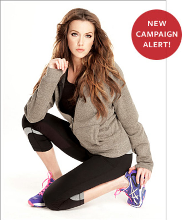 Katie Cassidy Lady Foot Locker