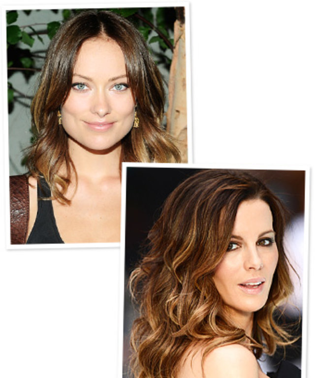 Ombre Hair - Olivia Wilde - Kate Beckinsale