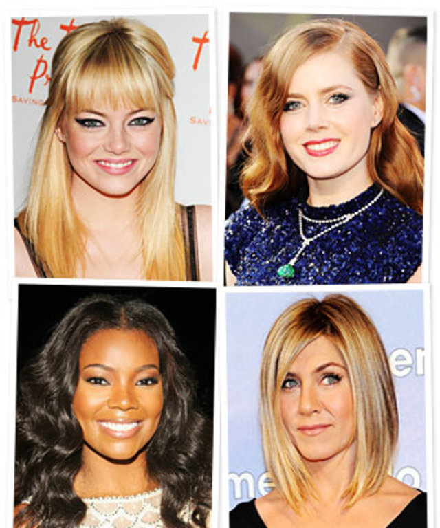 Emma Stone, Amy Adams, Gabrielle Union, Jennifer Aniston