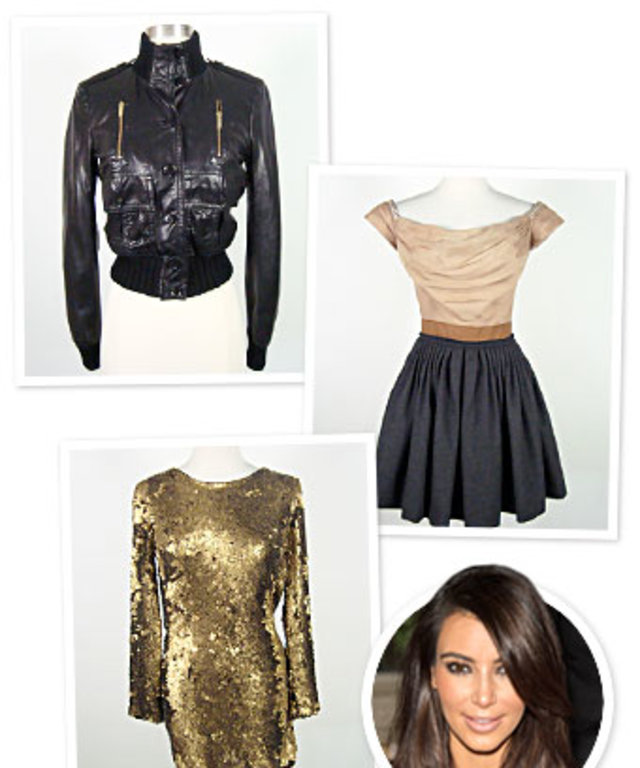 kim kardashian s old clothes now on sale how to shop instyle com