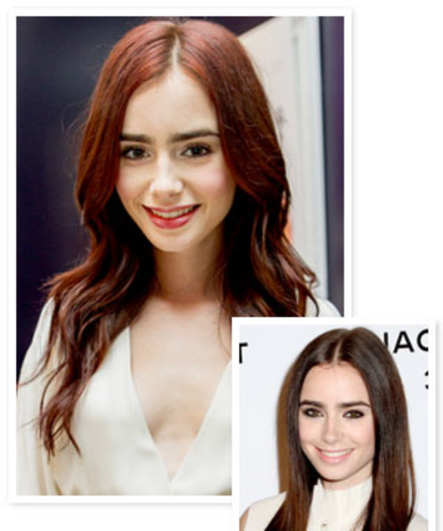 Lily Collins Is A Redhead Now All The Details Instyle