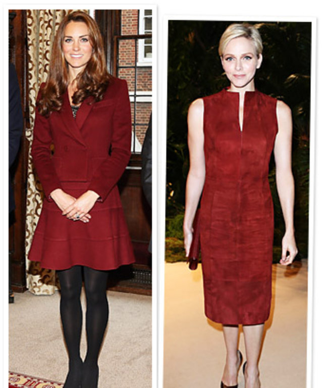 Kate Middleton, Charlene Wittstock