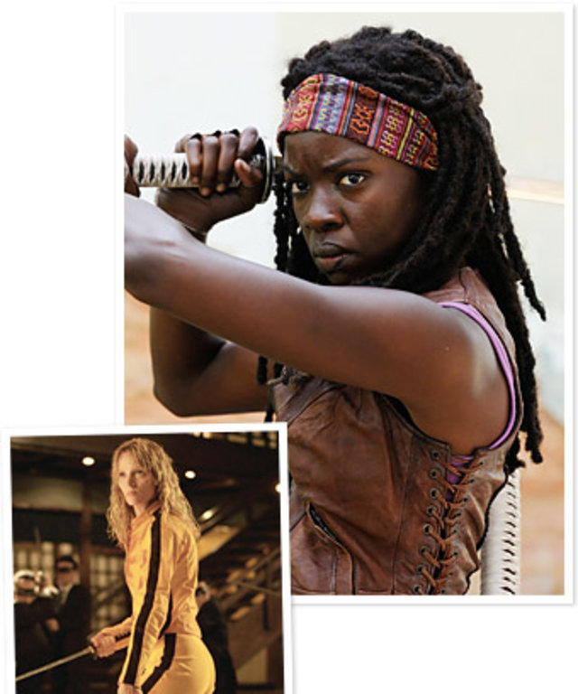 Danai Grimes The Walking Dead