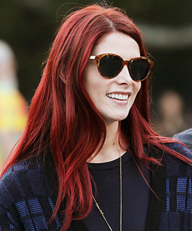 Ashley Greenes Red Hair Her Colorist Shares The Details Instyle
