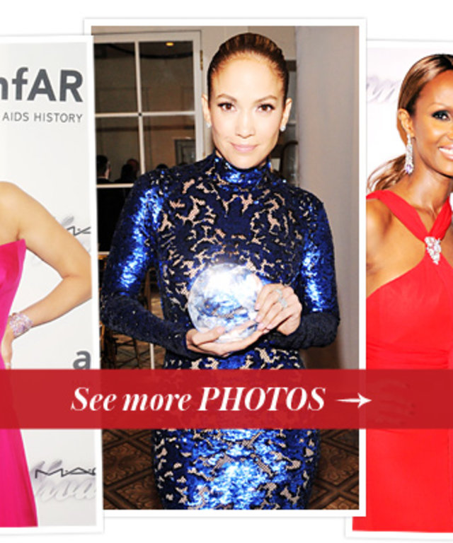 Uma Thurman, Jennifer Lopez, Iman, Kenneth Cole