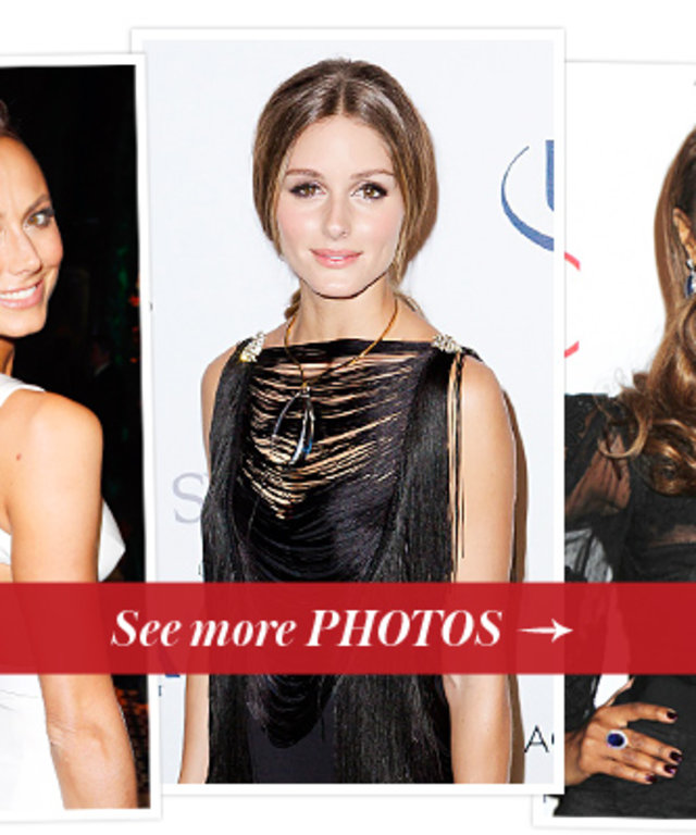 Stacy Keibler, Olivia Palermo  and Iman