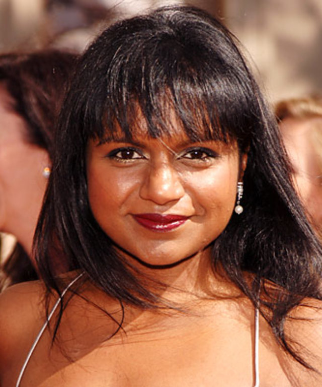 Mindy Kaling - Transformation - Hair - Celebrity Before and After