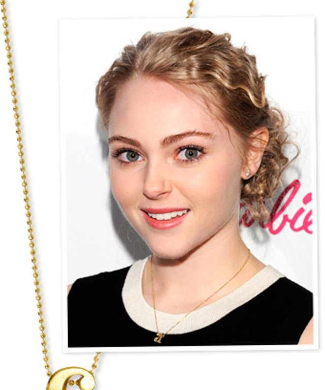 AnnaSophia Robb carrie necklace