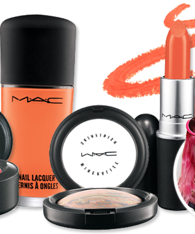 Orange You Glad Hayley Williams of Paramore's MAC Collection