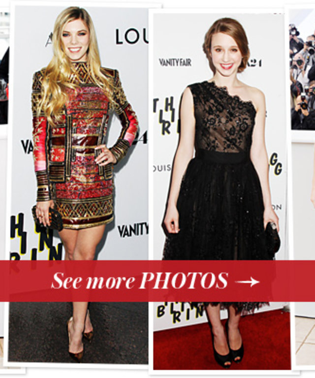 Katie Chang, Claire Julien, Taissa Farmiga and Emma Watson's Red Carpet Styles