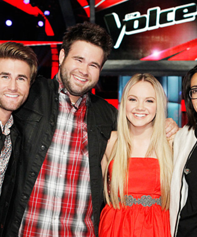 The Voice Season 4 Contestants