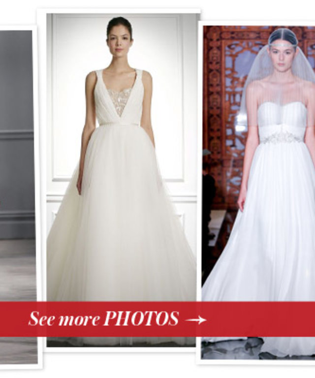 Wedding Dress Predictions for Halle Berry