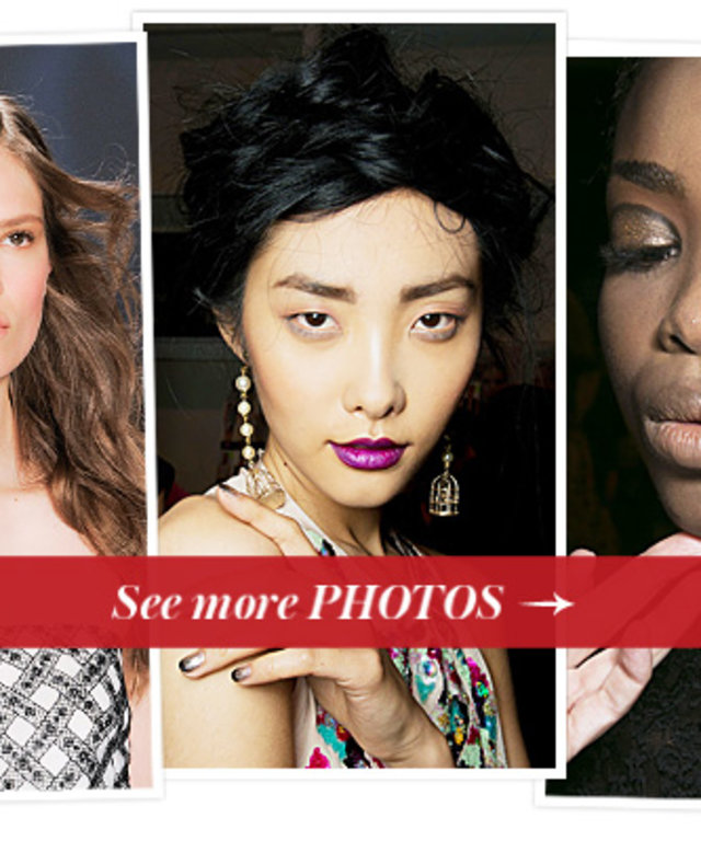 New York Spring 2014 Fashion Week - Runway Beauty Looks We Love