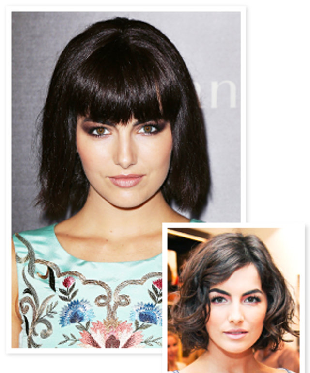 Camilla Belle Debuts Bold New Bangs Instyle
