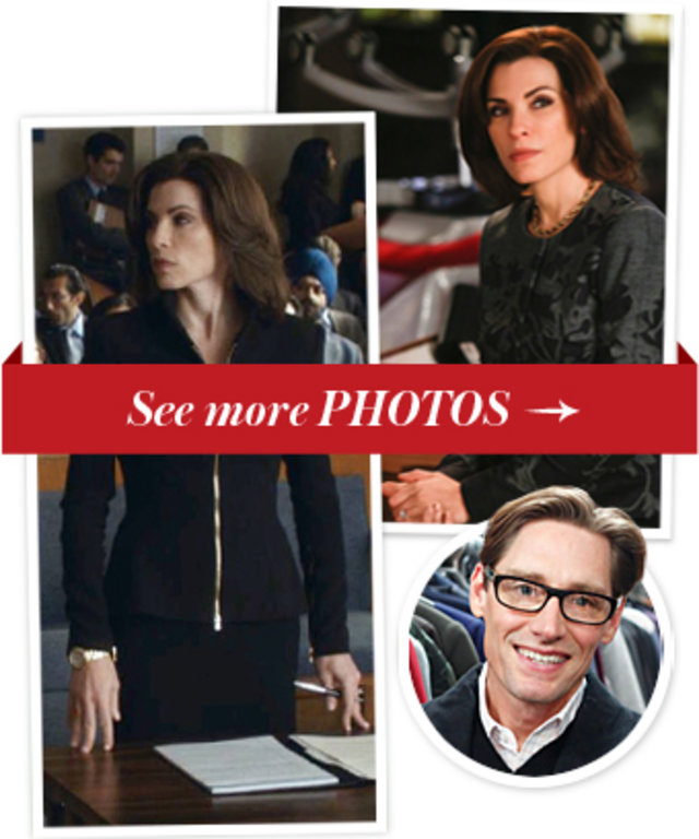 Julianna Margulies, The Good Wife and Daniel Lawson