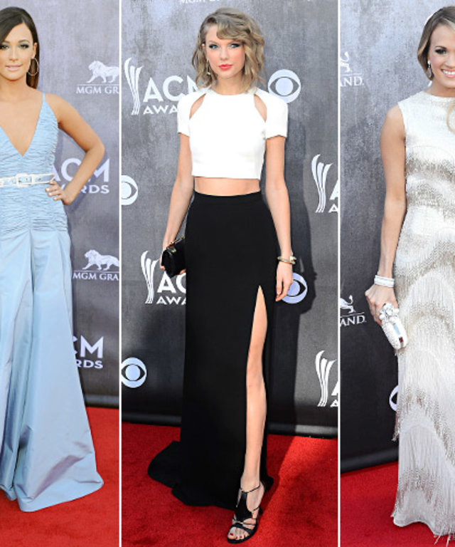 country music carpet American awards red