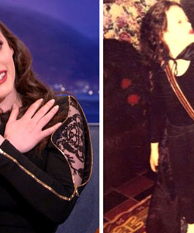 Kat Dennings had an Wednesday Addams obsession.