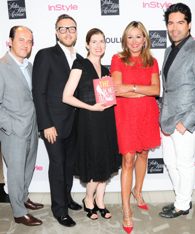 The Shoe Book Party: Prosper Assouline, Ariel Foxman, Nancy MacDonell, Marigay McKee and Brian Atwood