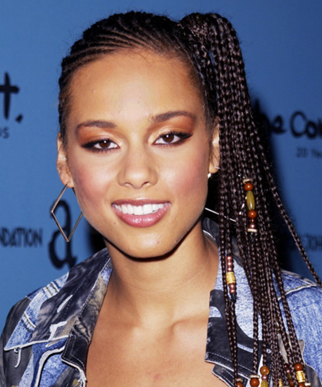 Alicia Keys - Transformation - Beauty - Celebrity Before and After