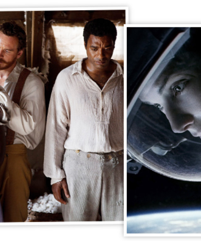 12 Years a Slave and Gravity