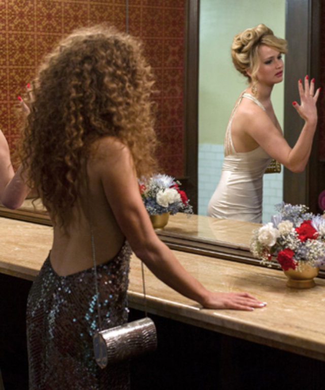 American Hustle, Jennifer Lawrence and Amy Adams