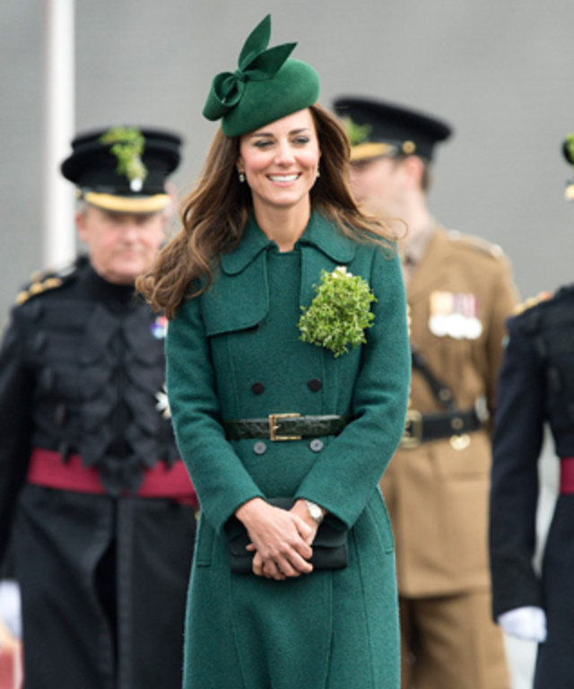 Kate Middleton St. Patrick's Day 2014