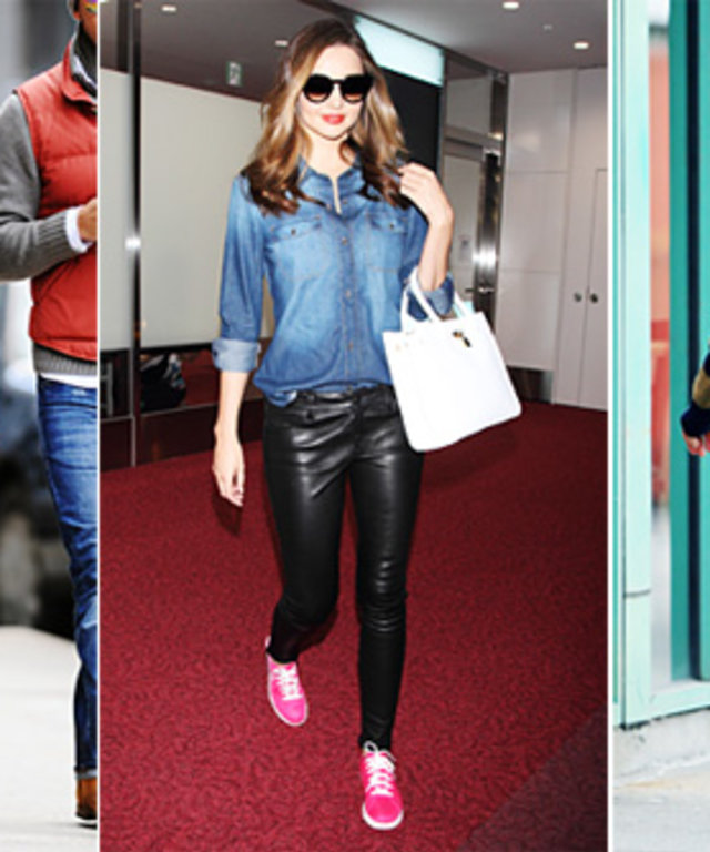 Celebrities in Sneakers