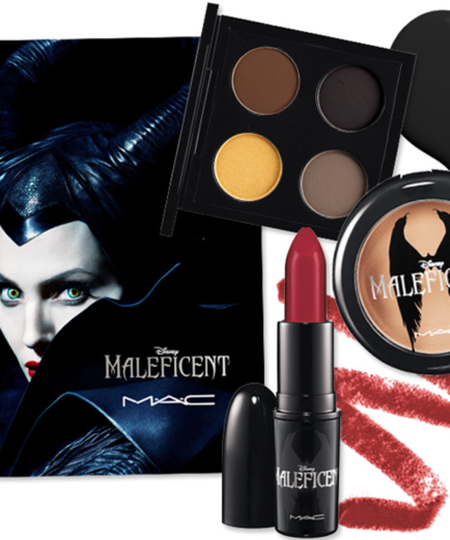 See Mac S Maleficent Inspired Makeup Collection Instyle Com