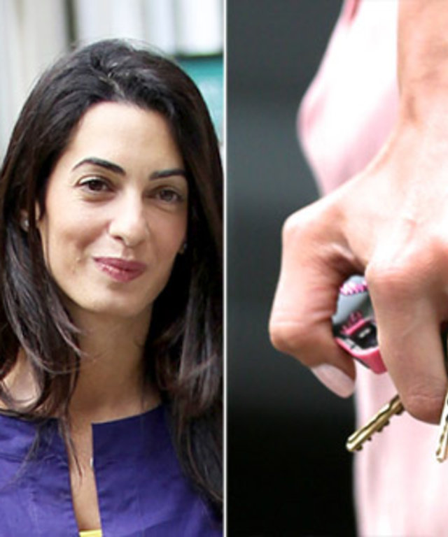 Amal Alamuddin's Engagement Ring from George Clooney