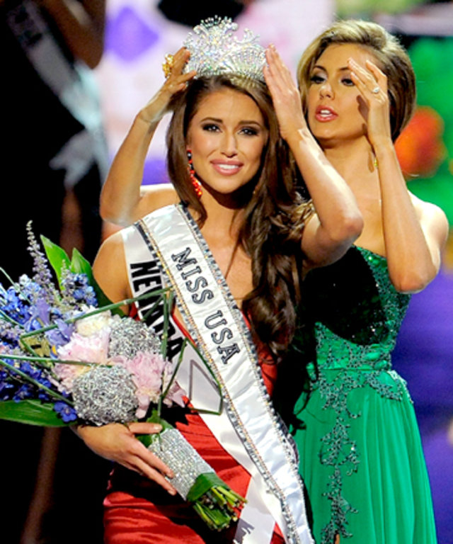 The New Miss USA is Miss Nevada!