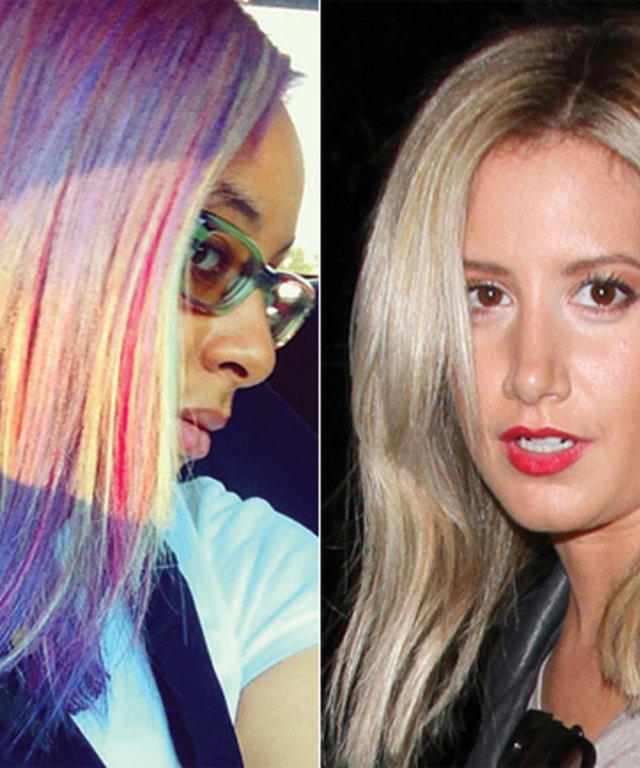Raven Symone Ashley Tisdale New Hair