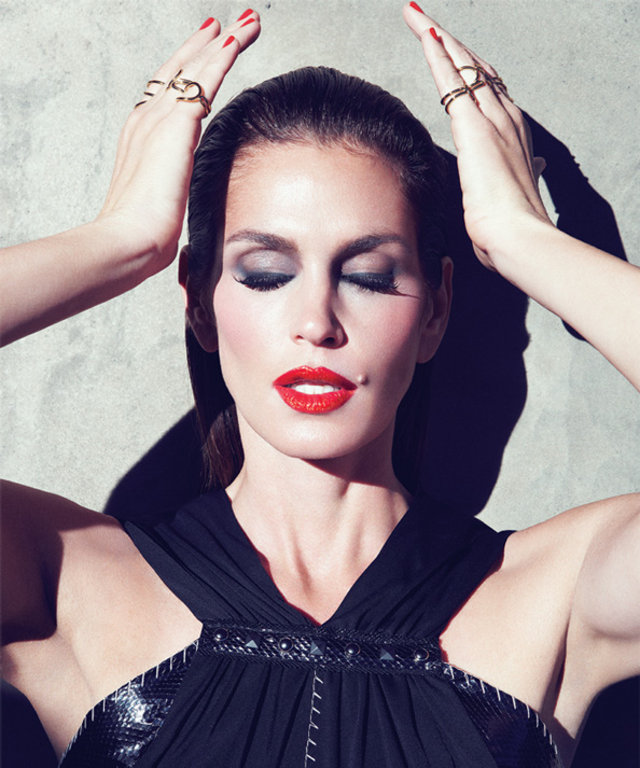 Cindy Crawford in Blow Me a Kiss by Alice Harris